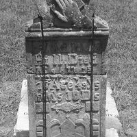 Headstone of Malinda Dwight Hill at Lonesome Dove cemetery. Malinda and 14 others survived the 1836 raid on Fort Parker, infamous for the Comanche kidnapping of Cynthia Ann Parker