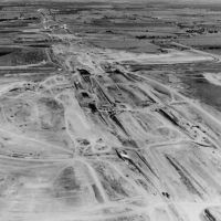 After decades of arguing, by December 1968 Dallas and Fort Worth city leaders reached an agreement and ground was broken for the DFW Regional Airport. Work got underway in January 1969. Courtesy of DFW Airport